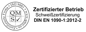 Zertifizierter Betrieb Schweißen Din En 1090-1